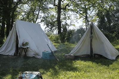 Reenactor Campsite